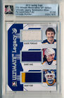 2012-13 ITG Ultimate Spring Expo GILBERT PERREAULT GRANT FUHR Triple Patch # 20