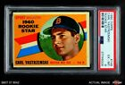 1960 Topps #148 Carl Yastrzemski - Rookie Star Red Sox PSA 6 - EX MT