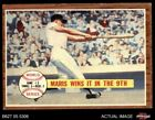 Roger Maris Cards and Autographed Memorabilia Guide 11