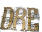 Pottery Barn Kids Dream Decorator Wall Letter Set Antique Gold Color Finish