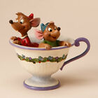 Jim Shore Disney Traditions Cinderella Jaq and Gus Tea for Two Figurine 4016557