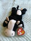 Rare Retired Ty Beanie Babies Daisy the Cow with Errors 1993 tush 1994 hang tag