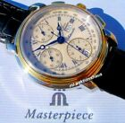 """Maurice Lacroix MASTERPIECE Chronograph """"CRONEO""""; Stahl-/18K-Massivgold"""