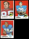1969 Topps Football Cards 14