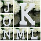 White Wooden Letters A Z Alphabet Stand Words DIY Wedding Party Home Decor US