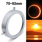 Silver 70 92 mm Solar Filter Baader Film Metal Cover For Astronomical Telescope