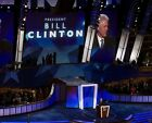Former President Bill Clinton speaks at 2008 Democratic Convention -  8x10 Photo