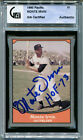 MONTE IRVIN Signed 1990 Pacific Legends Card w