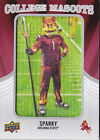 2012 Upper Deck Football College Mascots Patch Card Guide 67