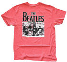 The Beatles Band Red Heather Mens Graphic T Shirt New