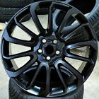22 Wheels For Range Land Rover HSE Sport Charger LR3 22x10 Satin Black 5x120