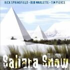 CD SAHARA SNOW 1997 USA RICK SPRINGFIELD TIM PIERCE BOB MARLETTE