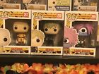 Funko Pop! One Punch Man Set Of 3 Vaulted Mint Genos, Lord Boros And Saitama