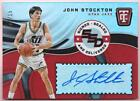JOHN STOCKTON 2017-18 TOTALLY CERTIFIED SIGNED SEALED DELIVERED AUTO #01 15 JAZZ