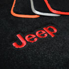 Jeep Grand Cherokee Floor Mats - Srt Srt8 Jeep Logos - Ultimat Quality Exact Fit