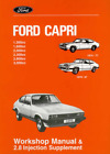 Factory Workshop Manual Ford Capri 1974-1987 Service Repair +2.8 Supplement