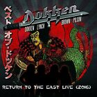 Dokken - Return To The East Live 2016 [New CD] Frontiers Records 8024391086049