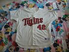 Minnesota Twins Authentic Jersey Sz 54 Russell Athletic