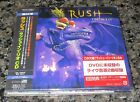 UNOPENED! Japan PROMO issue 3 x CD RUSH In Rio OBI Geddy Lee MORE Rush LISTED