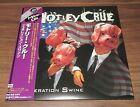 Japan PROMO Motley Crue card sleeve CD mini LP MORE LISTED Generation Swine