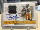 2018 National Treasures JEROME BETTIS Single Color Patch Auto #18 25