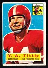 Top 10 Y.A. Tittle Football Cards 20