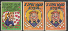 1959 TOPPS FUNNY VALENTINES CARD STARTER SET 55 66