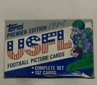 1984 Topps USFL Football Set 132 Card Factory Complete