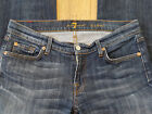 7 For All Mankind Bootcut NY Jeans Med Dark Vintage W30 L32 2 of 2