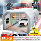 Car Spray Paint Booth W Blowers Tent Garage Job Tent Party Portable Workstation