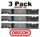 3 Pack Oregon 592 124 Mower Blade Gator G5 Fits Kubota K5576 34340