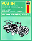 Haynes Workshop Manual Austin A35 and A40 1956-1967 New Service Repair