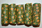 Antique Venetian Lime Green Yellow Italian Millefiori Glass Beads African Trade
