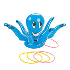 Inflatable Octopus Childrens Swimming Pool Toy Play Kids Ring Toss Water Game