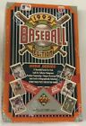 1992 Upper Deck High Series 2 Baseball Hobby Box Factory Sealed Find the Bench