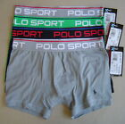 POLO SPORT RALPH LAUREN Set of 4 S X-TEMP CLIMATE PERFORMANCE BOXER BRIEF L146