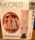 Mccalls 8116 Toddlers Girls Dress Pattern Many Sizes Oop Vintage Uncut
