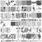 New DIY Layering Embossing Stencil Template For Wall Painting Scrapbooking Stamp