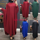 New Sequins Patchwork Muslim Robe Long Gown Dubai Long Sleeve Loose Arab Abaya