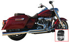 Billet Cat 2 1 Chrome Exhaust + Race Tip DD Harley Touring M8