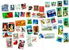 Lot 711  50 Different US Vintage Used Postage Stamps from Old Collection