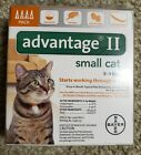 Bayer Advantage II Flea Control Treatment for small Cats 5 9 LBS New 4 pack
