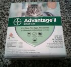 4 MONTH Advantage II Flea Control Small Cats for cats 8 weeks  older 5 9 lbs