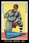 Walter Johnson Cards and Autograph Guide 31