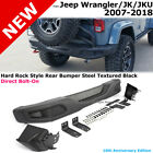 Jeep JK Wrangler 07 18 Full Metal Rubicon 10th Anniversary Style Rear Bumper