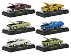 DETROIT MUSCLE 6 CARS SET RELEASE 47 IN CASES 1 64 DIECAST M2 MACHINES 32600 47