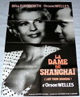 THE LADY FROM SHANGHAi Rita Hayworth Orson Welles LARGE French POS