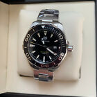 TAG HEUER Aquaracer Quartz Black Dial 43mm Steel Men's Watch WAY101A