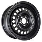 Reconditioned 15X6 Black Steel Wheel for 1995 1998 Oldsmobile Achieva 560 08014