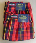 NWT POLO RALPH LAUREN Set of 2 (L 35-38) Boxer Underwear CLASSIC FIT Red Cotton